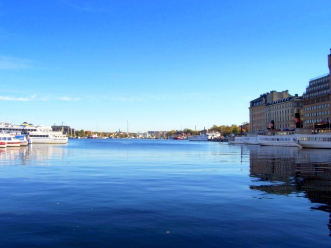 Friday Flashback – Stockholm on a Sunny Day