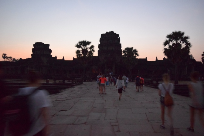 Racing Against the Sun: Angkor Wat