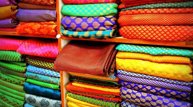 Technicolor Textiles in New Delhi